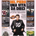 Gazzetta dello Sport – Del Piero, una vita da Dieci