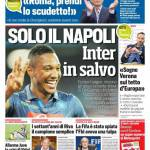 Corriere dello Sport – Solo il Napoli, Inter in salvo