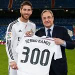 Real Madrid, Sergio Ramos nella storia: presenza numero 300