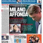 Corriere dello Sport – Milano affonda