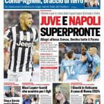 Corriere dello Sport – Juve e Napoli superpronte