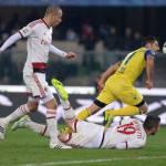 Fantacalcio Chievo-Milan, voti e pagelle della Gazzetta: Destro non spara, Pazzini fa peggio