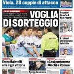 Corriere dello Sport – Voglia di sorteggio