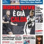 Corriere dello Sport – Roma-Juve è già calda