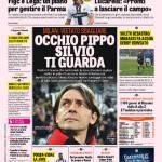 Rassegna Stampa: Gazzetta dello Sport – Occhio Pippo, Silvio ti guarda