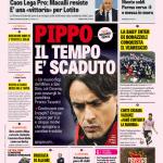 Gazzetta dello Sport – Pippo il tempo è scaduto