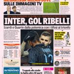 Gazzetta dello Sport – Inter, gol ribelli