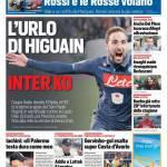 Corriere dello Sport – L'urlo di Higuain, Inter k.o.
