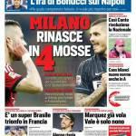 Corriere dello Sport – Milano rinasce in 4 mosse