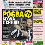 Rassegna Stampa: Gazzetta dello Sport – Pogba, segna e chiude
