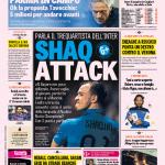 Gazzetta dello Sport – Shaq attack