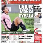 Corriere dello Sport – La Juve marca Dybala