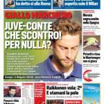 Corriere dello Sport – Juve-Conte, scontro per Marchisio. Per nulla?