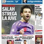 Corriere dello Sport – Salah strega la Juve