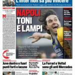 Corriere dello Sport – Napoli, Toni e lampi