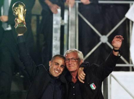 Lippi e Cannavaro