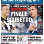 Corriere dello Sport: Finale scudetto