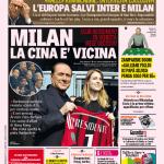 Gazzetta dello Sport – Milan, la Cina è vicina