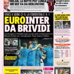 Gazzetta dello Sport – EuroInter da brividi