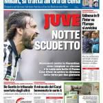 Corriere dello Sport – Juve notte Scudetto
