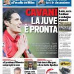 Corriere dello Sport – Cavani la Juve è pronta