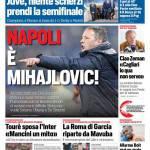 Corriere dello Sport – Napoli è Mihajlovic