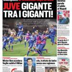 Corriere dello Sport – Juve gigante tra i giganti