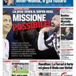 Corriere dello Sport – Missione possibile