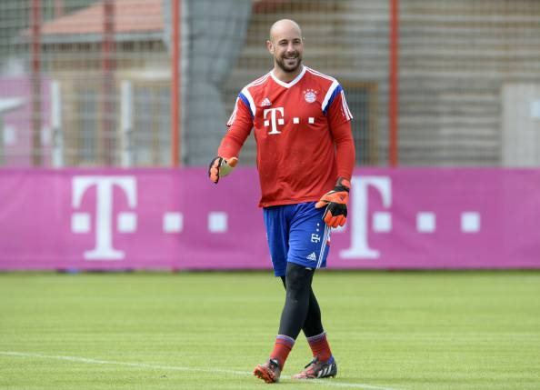 FBL-GER-BUNDESLIGA-BAYERN MUNICH-TRAINING