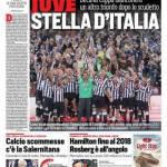 Corriere dello Sport – Juve stella d'Italia