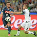 Napoli-Cesena 3-2, brutto Napoli ma che Mertens!