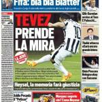 Tuttosport – Tevez prende la mira