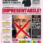Gazzetta dello Sport – Impresentabile