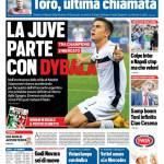 Tuttosport – La Juve parte con Dybala