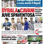 Corriere dello Sport – Dybala & Cavani, Juve spaventosa