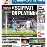 Corriere dello Sport – 'Scippati da Platini'