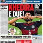 Tuttosport – Khedira e due!