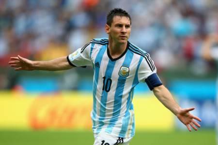 Lione Messi con l'Argentina / Getty Images