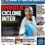 Corriere dello Sport – Imbula ciclone Inter
