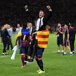 Juventus-Barcellona, Luis Enrique: 'Futuro? Ora pensiamo a festeggiare'