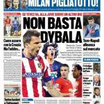 Tuttosport – Non basta Dybala