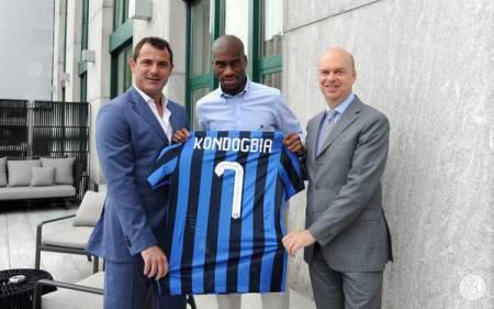 Foto tratta dall'account Twitter ufficiale dell'Inter