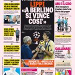 Gazzetta dello Sport – Lippi 'A Berlino si vince così'