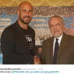Napoli, ora è ufficiale: torna Reina