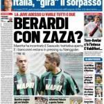 Tuttosport – Berardi con Zaza?