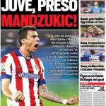 Tuttosport – Juve, preso Mandzukic