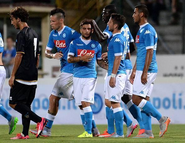 SSC Napoli v Feralpi Salo - Preseason Friendly