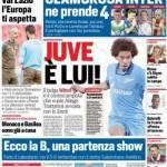 Corriere dello Sport – Juve è lui