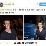 Calciomercato Juventus, Hernanes sta sostenendo le visite mediche