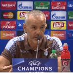 Lazio, Pioli: 'Ottimo risultato ma la qualificazione è ancora aperta'